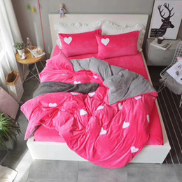 $enCountryForm.capitalKeyWord Canada - winter bedding set baby fleece fabric reactive printing queen and kiing size fitted sheet will be produce if you need red color 16001