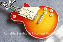 $enCountryForm.capitalKeyWord Canada - Custom Shop Ace Frehley Budokan Signature Cherry Sunburst Electric Guitar 3 Pickups Lightening Bolt Fingerboard Inlay In Stock For Sale
