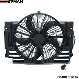 Bmw radiators online shopping - EPMAN A C AC Radiator Condenser Cooling Fan Brushless Motor For BMW X5 Blade EP RCFSE53X5