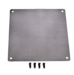 120x120mm Ordinateur PC Housse de protection pour ventilateur de filtre antipoussière Cuttable Mesh Convient à des ventilateurs standard de 120mm + 4 vis 1 PC