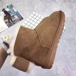 $enCountryForm.capitalKeyWord Canada - FREE SHIPPING 2018 Christmas NEW Australia classic tall winter boots real leather Bailey Bowknot women's bailey bow snow boots shoes boot