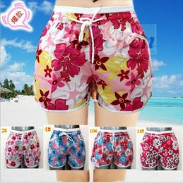Pantalons Maillots De Bain Pas Cher-Lady Summer Beach Shorts Imprimer Swim Trunks Sports Boxers Surf Beach Pantalons Board Shorts Pantalons BeachWear Swimwear Maillot de bain demi-pantalon A583 300