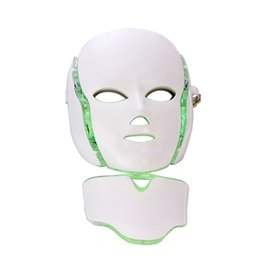 Wholesale PDT Photon Therapy LED Facial Mask Skin Rejuvenation Skin Care Beauty Machine Face Neck Use with Stand for Salon Use