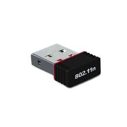 Discount wireless antenna laptop - Wholesale- 2017 Mini USB WIFI Adapter 802.11n g b Wi Fi Antenna 150Mbps Wireless LAN Network Card MT7601 External USB wi