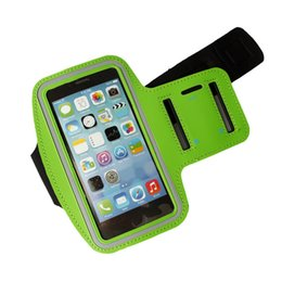 phone holder for running purple UK - Free DHL new Sport Armband Arm Band Belt Cover Waterproof Running GYM Bag Case For Apple iPhone 4.7inch 6 6S Mobile Phone with Key Holder