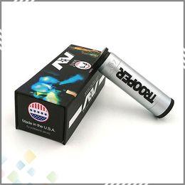 Clones eleCtroniCs online shopping - Best Able Mod Trooper AV style Mech Electronic Cigarette Clone fit Battery Trooper AV Mechanical Mod DHL Free