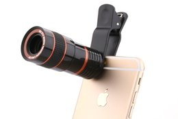 $enCountryForm.capitalKeyWord NZ - Universal 8X Optical Zoom Smart Phone Telescope Camera Lens With Removable Clip Cell Phone Photograph Accessories