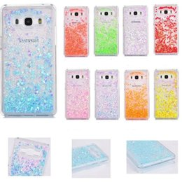 $enCountryForm.capitalKeyWord Canada - Fashion Transparent phone cases Fun Glitter Star Quicksand Liquid Phone Back cover case For Iphone 8X 7plus Samsung S8 S7 edge SCA316