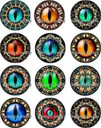 Black Button eyes online shopping - Eyes glass Snap button Jewelry Charm Popper for Snap Jewelry good quality Gl330 jewelry making DIY