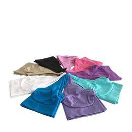 Chinese  High Quality 9 Colors Seamless Bra Push Up Sport Bra Yoga Bra Fashion Sexy Bra Microfiber Pullover Bra Body Shape 6 size for choose 200pcs manufacturers