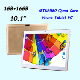 "mtk octa core tablet NZ - 10.1"" Phone Tablet PC MTK6580 Quad Core 3G Dual SIM 16GB Android 5.1 WIFI Bluetooth 1280*800 MTK8752 Octa Core 32GB Phablet"