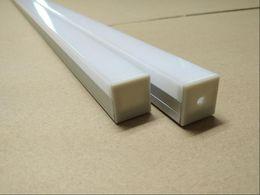 Wholesale Items Sold Australia - 2.5m pcs 24pcs lot Hot Selling Item Free Shipping Anodized Silver LED Aluminum Profile for LED strips and LED Bar light
