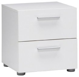 China 2 Drawer Nightstand in White Finish suppliers