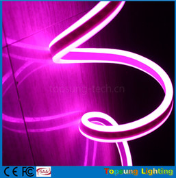 China 50m spool amazing double sided emitting led neon tube lights flexible strip waterproof for rooms for signs 220v 230v 240v multi colors suppliers