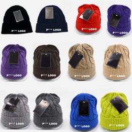 Wholesale Sports Team Hats Canada - 2016 Brand P*** Logo Wool Blend Beanies Baseball Beanie Caps Sports Team Hats Fashion knitted Beanies Skulls Beanie Accept Drop Shipping