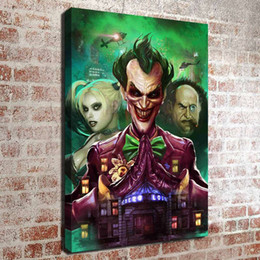 Oil canvas kitchen art online shopping - No frame Suicide Squad HD Canvas print Wall Art Oil Painting Pictures Home Decor Bedroom living room kitchen Decoration