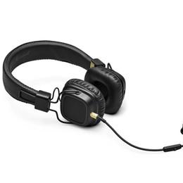 Iphone II online shopping - Major II Bluetooth Wireless Headphones in Black DJ Studio Headphones Deep Bass Noise Isolating headset for iPhone Samsung
