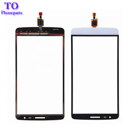Discount lg g3 parts - Touch Screen Digitizer Sensor Glass Panel Replacement Parts For LG G3 Stylus D690N D690 With Logo