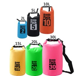 new 2l 30l waterproof storage dry carry bag sack boat kayak camp float hiking canoe