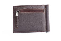 $enCountryForm.capitalKeyWord NZ - UBUNTU slim leather wallet US dollars in foreign trade leather folder multifunction coin purse wallet fashion simple clip dollars
