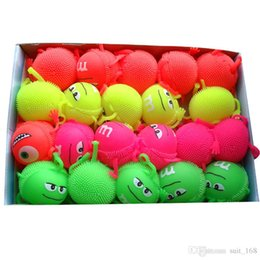 Discount massage flashing - Maomao luminous ball vent ball decompression new tweak called flash massage ball toy wholesale toys for children