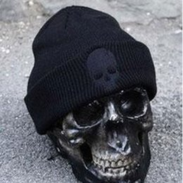 d8354e50261 hot New Mens Acrylic Hat Soft Resilient Women Skull Caps Fashion Hip Hop  Beanie Headwear free shipping