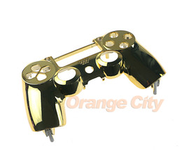 Playstation controller covers online shopping - Chrome Housing Top Front Upper Shell Case Cover Repair for Sony Playstation PS4 Wireless Controller High Quality
