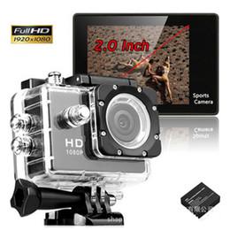 SJ4000 стиль A9 2-дюймовый ЖК-экран 1080P Full HD действий камеры 30 м водонепроницаемый видеокамеры SJcam шлем Спорт DV автомобильный видеорегистратор DHL OTH190