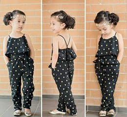 $enCountryForm.capitalKeyWord Canada - Europe Girls Overalls Clothing Sets Romper Baby Lovely Heart-Shaped Jumpsuit Suspender Cargo Pants Bodysuits Kids Children Outfit