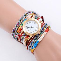 Rivets spots online shopping - Circle color bracelet table Europe and the United States popular women punk wind rivets bracelet watch spot