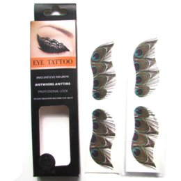 Ensemble D'oeil Pas Cher-Nouveaux tatouages ​​Eye-Liner 27 styles 2 paires / Set Eye Shadow Sticker Outils de maquillage Body Art Transfert Eye Stickers gros