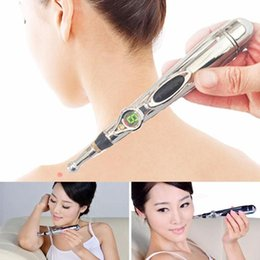 Meridian Massage Pen Australia - Hot sale electric meridian energy pen magnet therapy heal massage acupuncture meridians pen pain therapy tool