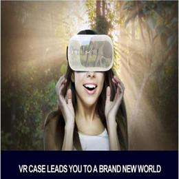 $enCountryForm.capitalKeyWord Canada - Hot Sale 3D Glasses Google Cardboard Virtual Reality Case 5th High Quality Gear VR Box Headset BOX Wireless Remote Controller 1set lot