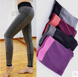 $enCountryForm.capitalKeyWord Canada - New Move Brand Sex High Waist Stretched Sports Pants Gym Clothes Spandex Running Tights Women Sports Leggings Fitness Yoga Pants S3