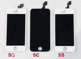 Touch Screen Lcd Iphone 5s NZ - Front Assembly LCD Display Touch Screen Digitizer Replacement Part for iphone 5 5g 5S Black White In Stock DHL Free Within 24 hours