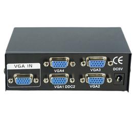 Vga port box online shopping - hot new MHz Port Monitor Switch VGA SVGA Video Splitter Box Adapter USB Powered