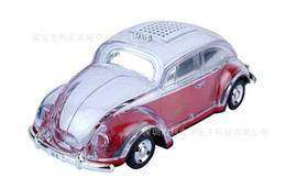$enCountryForm.capitalKeyWord UK - 5pcs LOT WS-1937BT colorful bluetooth mini speaker car shape mini speaker sound box MP3++U disk+TF+FM function+bluetooth