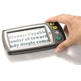 Новый 4,3-дюймовый видео лупа для низкого зрения помогает ЖК-экран многоцветные режимы AV из электронного чтения помощи