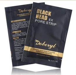 $enCountryForm.capitalKeyWord NZ - DOBERYL Black Head Mask Face Care Facial Blackhead Remover Nose Acne Treatments Deep Cleansing Mineral Mud EX Pore Strips Cleaner