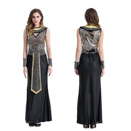 $enCountryForm.capitalKeyWord Canada - Halloween cosplay costume party adult clothing bar party queen cleopatra goddess of pharaoh