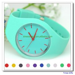 Discount quartz butterfly watch women - Free Shipping Brand Silicone jelly sports watches fashion brand style table men women wristwatches top quality quartz wa