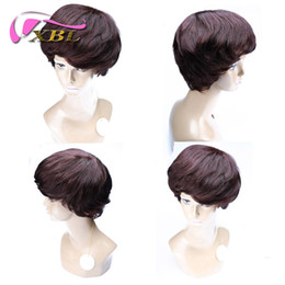 Hair wig styling online shopping - Short Hair Wigs Different Hair Style Brazilian Indian Malaysian Peruvian Hair Five Different Hair Wig For You Choose