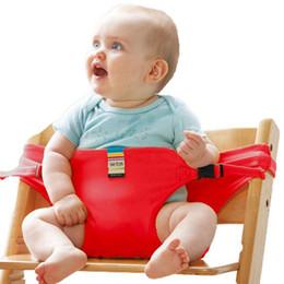 TAF JOUETS Chaise Infantile Portable Siège À Manger Chaise Déjeuner Siège Ceinture de Sécurité Stretch Wrap Chaise D'alimentation Harnais bébé Siège D'appoint en Solde