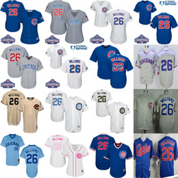 5d7dbaef3f3 ... 2017 Chicago Cubs Jerseys Mens Womens Youth 26 Billy Williams 1969  Throwback Cool Flex Baseball Jersey ...