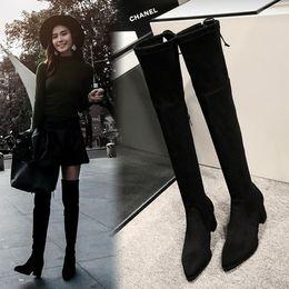 Discount Ladies Platform Long Boots | 2017 Ladies Platform Long ...