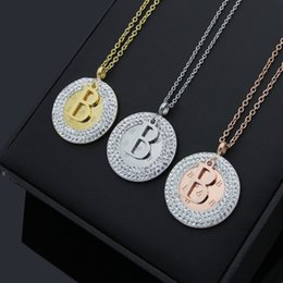 Necklace letter b online shopping letter b pendant necklace for sale letter b with crystal women statement necklaces necklace for women cubic zirconia necklaces pendants jewelry mozeypictures Image collections