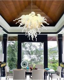 Kitchen Design Styles Australia - Turkish Style Art Crystal Pendant Lamps Well Designed Modern Pure White Murano Glass Chandelier for Wedding Decor