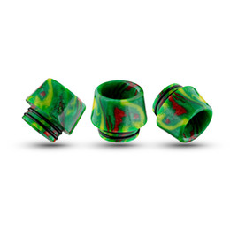 $enCountryForm.capitalKeyWord UK - Epoxy Resin TFV8 Drip tips Wide Bore 810 dripper tip Mouthpiece fit TFV8 TFV12 Big Baby Tank Kennedy RBA atomizer