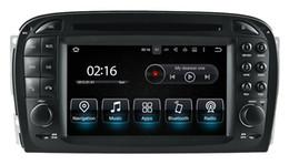 Android9.0 Octa çekirdek 4G RAM 32G ROM Araba DVD ARABA STEREO ARABA GPS Navigasyon multimedya Mercedes Benz SL R230 2001 2002 2003 2004 Stereo indirimde