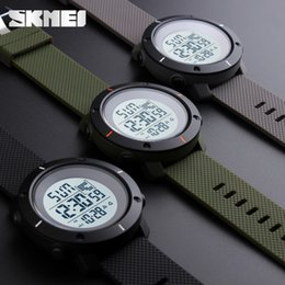 Men Digital Wrist Watches Australia - SKMEI Brand Sport Digital Watch Men Fashion Waterproof Multifunction Military Clock LED Digital Watches Outdoor Wrist Watch 1213